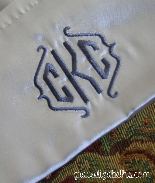 Emb Wed Pillowcases