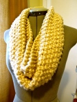 """Knifty"" Knit Cowl"