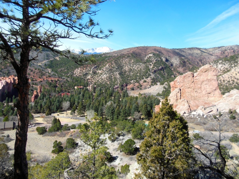Fire Line at Glen Eyrie