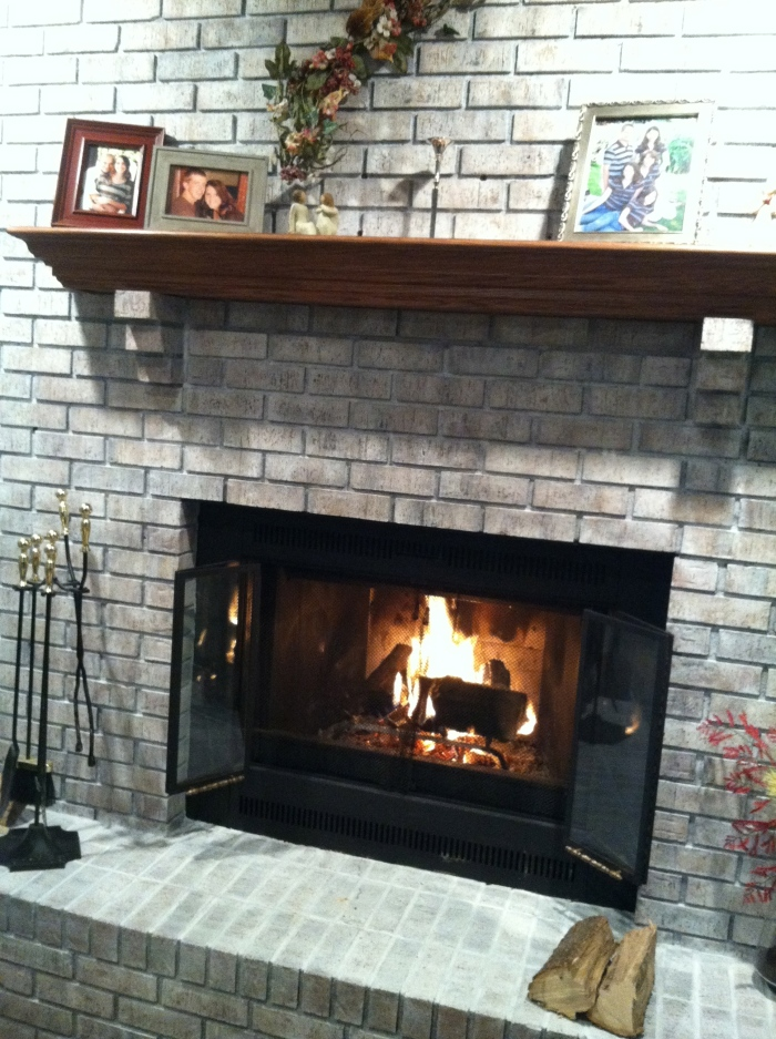 Fireplace After