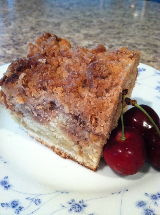 Cinnamon Crumble Coffee Cake