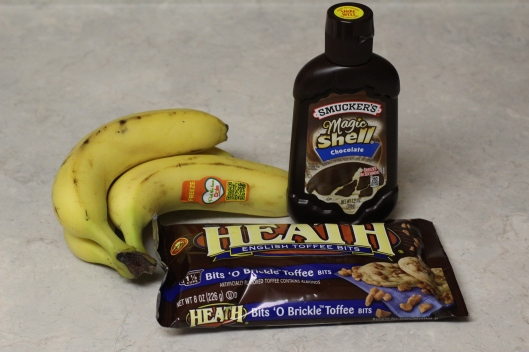 frozen banana bites ingredients