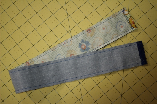 Camera Strap Tutorial: fabric tube