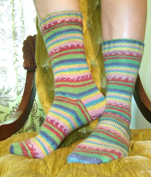 First Socks - Self-Striping