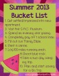 Date Night: Summer Bucket List