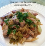 Easiest-ever Choucroute