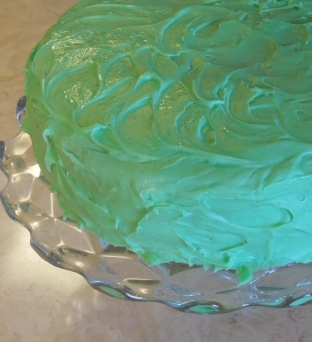Lemon St. Patrick's Day Cake