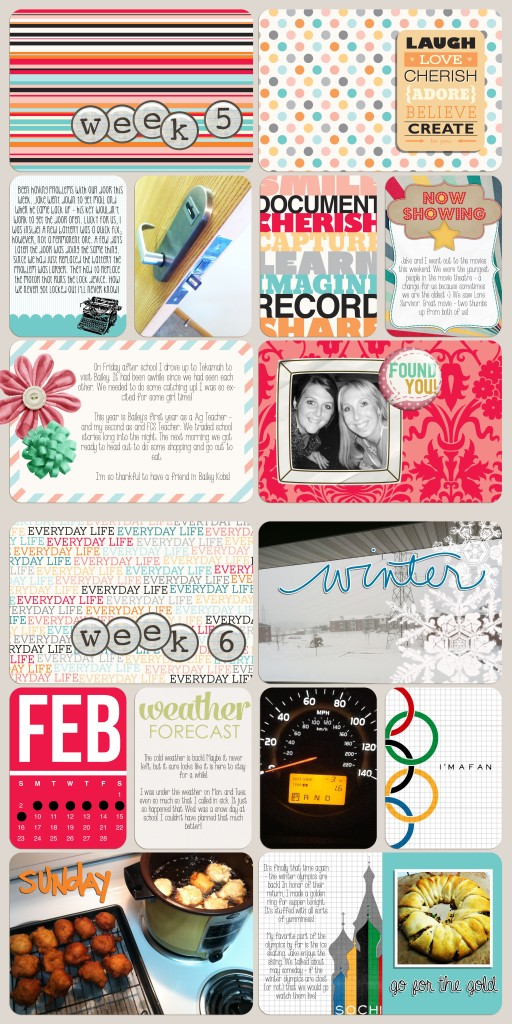 #projectlife 2014 week 5 & 6 #GEinc