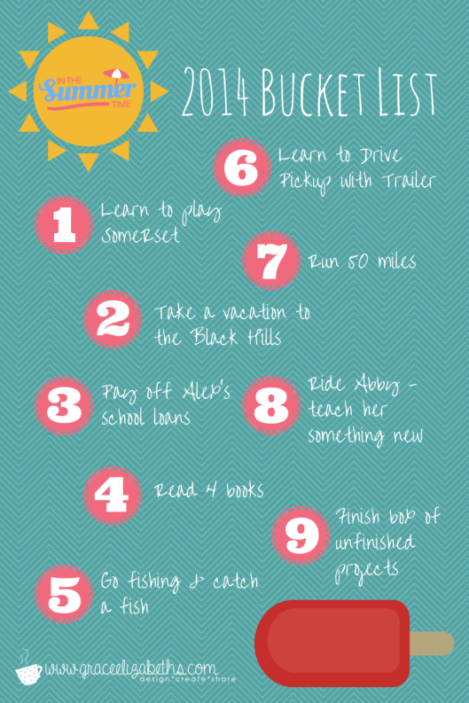 #Summer #BucketList