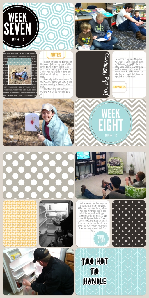 #projectlife 2014 week 7 & 8 @GEinc