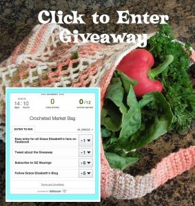 Crochet Market Bag Giveaway Entry Form