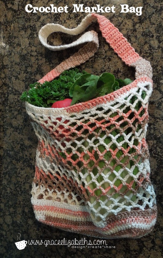 Crocheted Market Bag