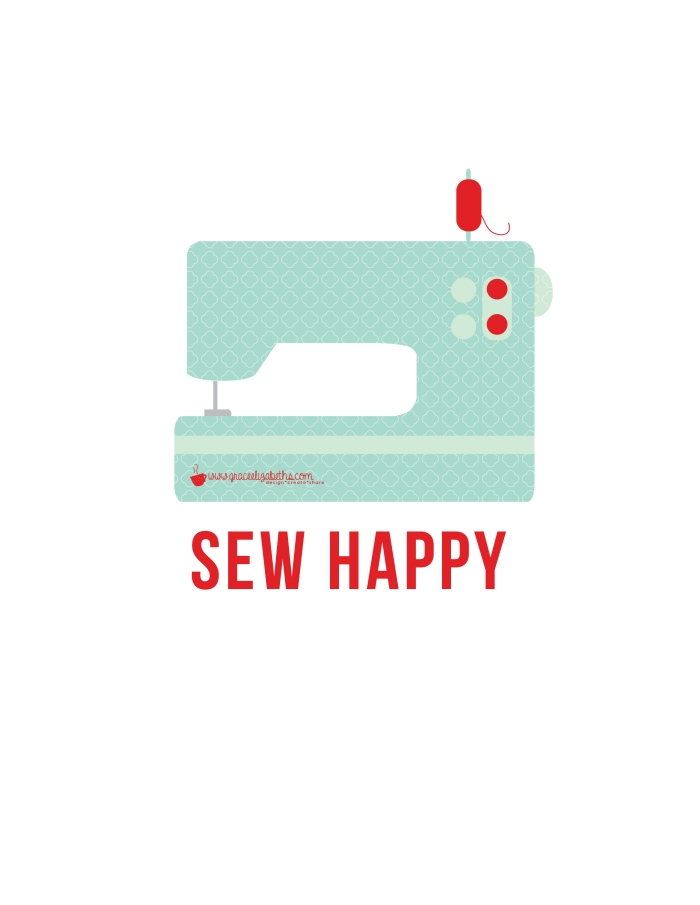 sew happy printable
