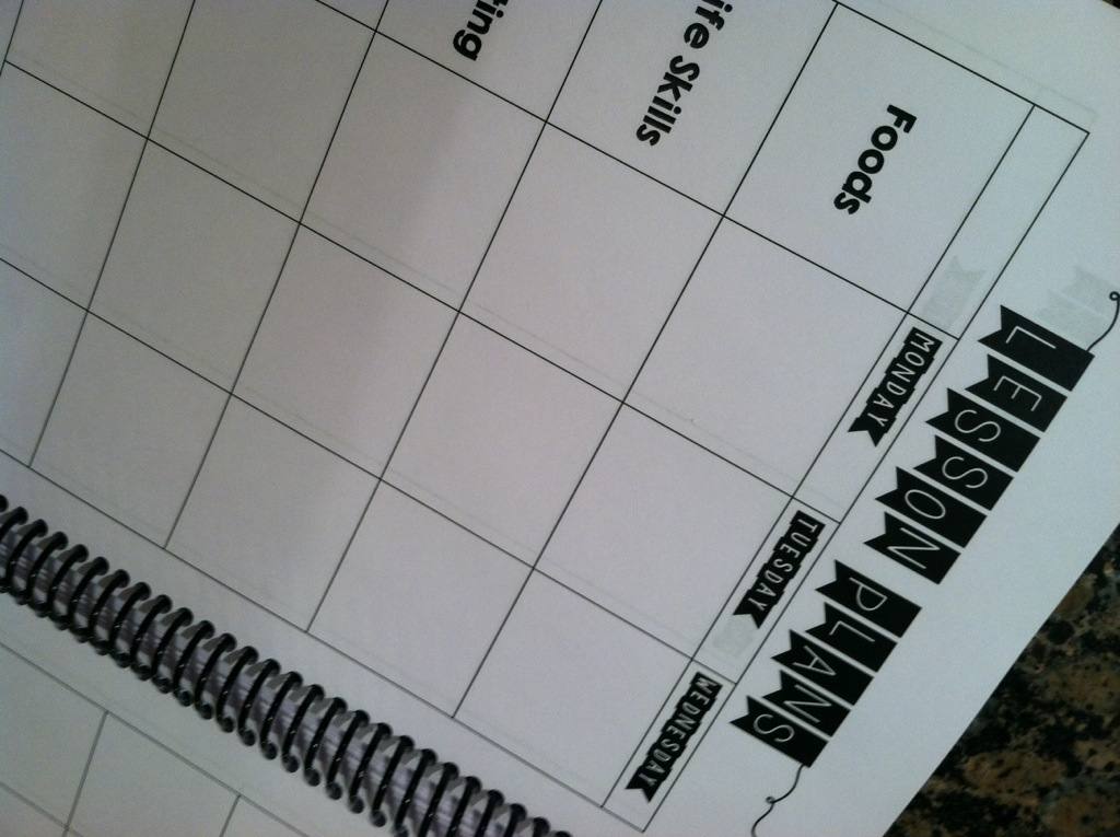 DIY Teacher Planner