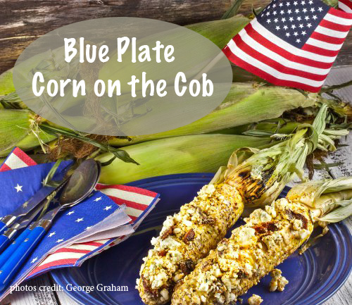 8 Irresistible Corn on the Cob Recipes: Blue Plate Corn on the Cob. GraceElizabeths.com