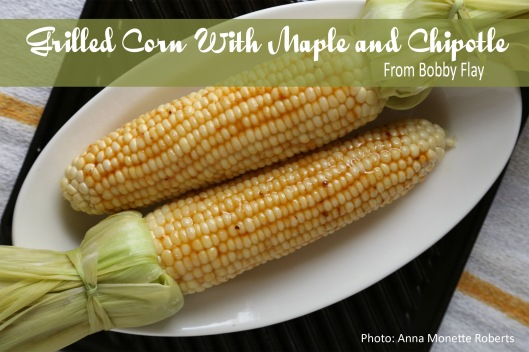 8 Irresistible Corn on the Cob Recipes: Corn with Maple and Chipotle. GraceElizabeths.com