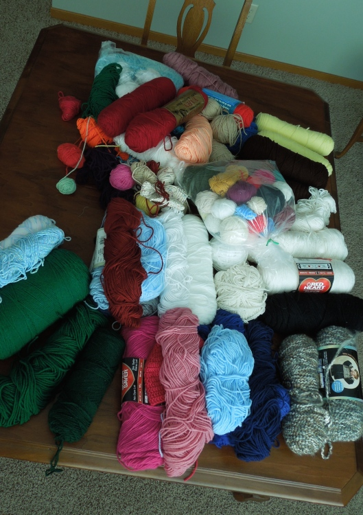 Mound of Yarn