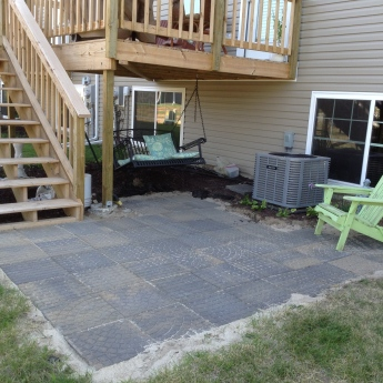 DIY: Paver Patio by Grace Elizabeths #GEinc