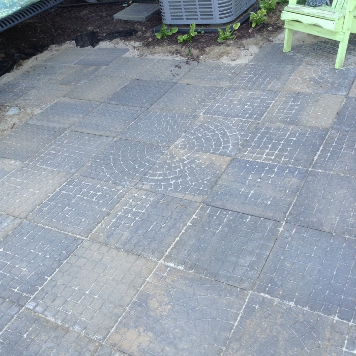New patio completed