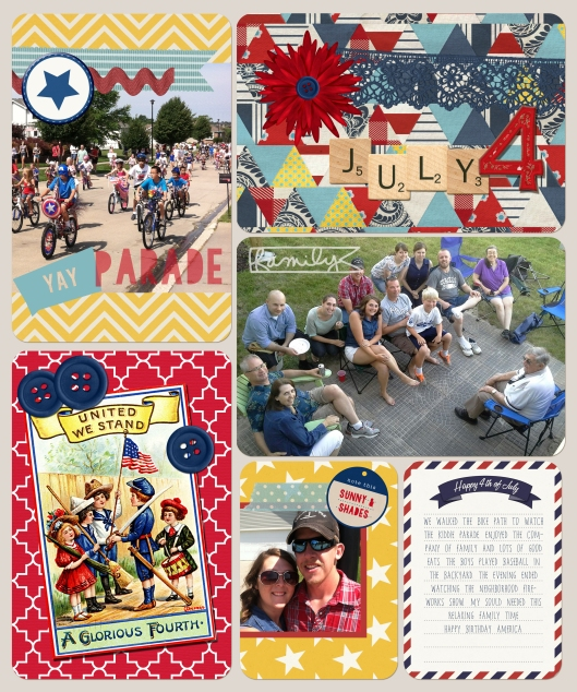 Project Life: July 4th @ graceelizabeths.com