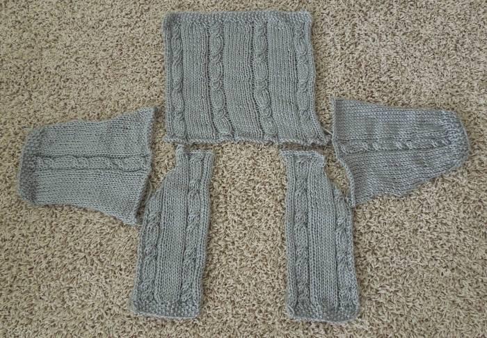 Baby Sweater Pieces by www.GraceElizabeths.com