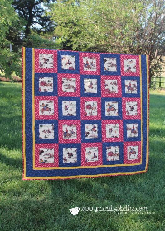 cowboy quilt 1