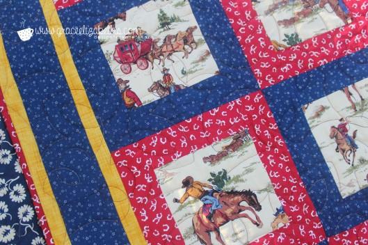 cowboy quilt 3