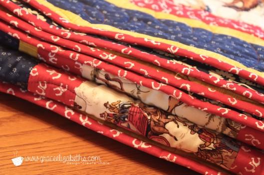 cowboy quilt 4