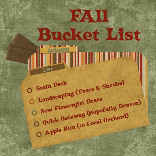 Fall Bucket list by #GEinc http://www.graceelizabeths.com