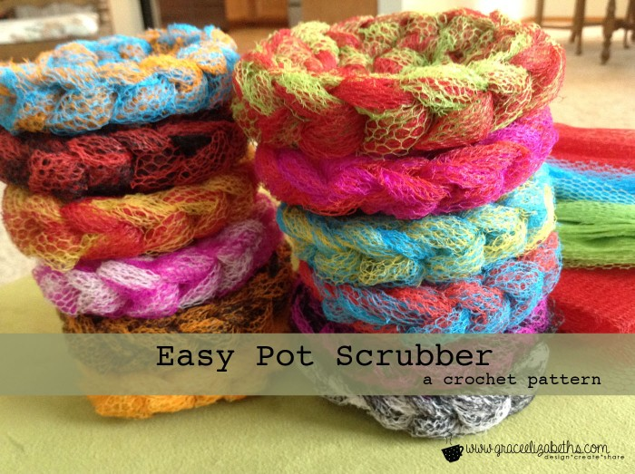 FREE Pattern: Easy Pot Scrubber - Grace Elizabeths